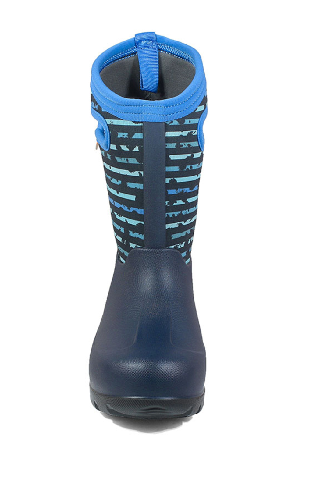 BOGS Neo-Classic Stripe Kids' Insulated Boots - Side Cropped Image