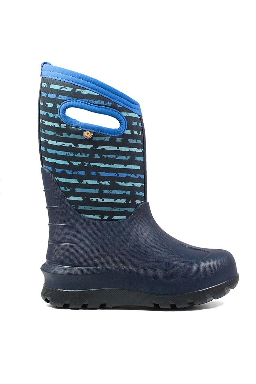 BOGS Neo-Classic Stripe Kids' Insulated Boots - Main Image