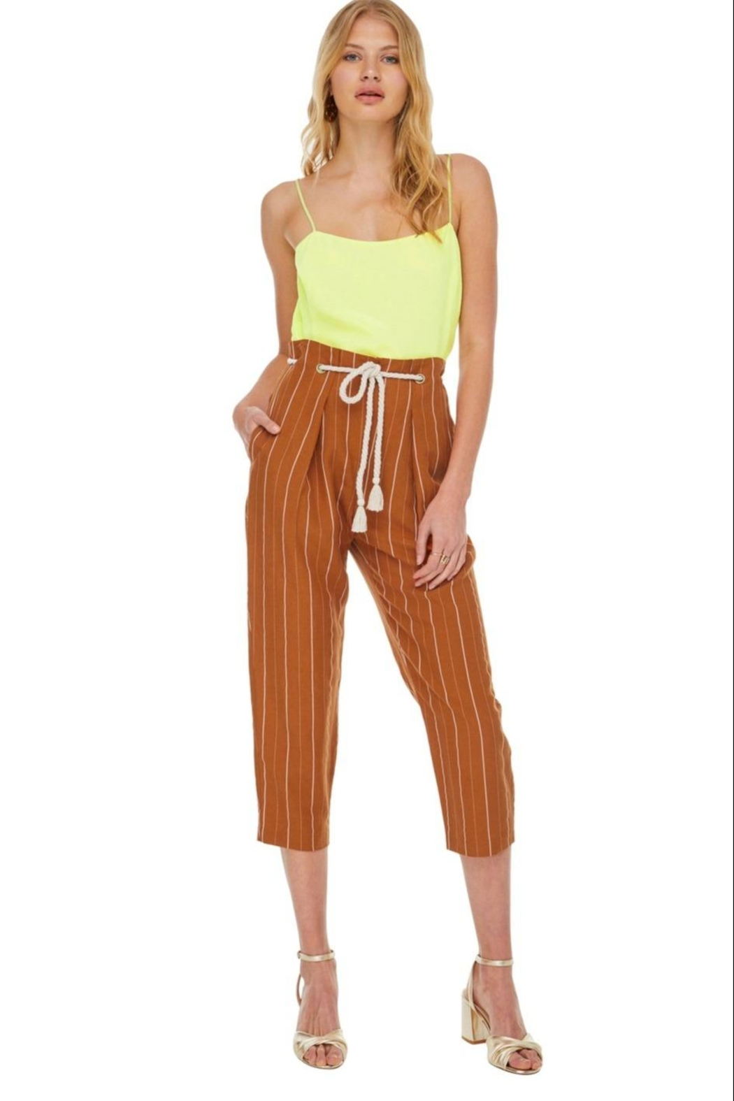 ASTR Neo Pants - Front Cropped Image