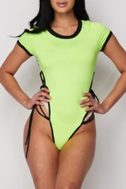TIMELESS Neon Bodysuit - Front cropped