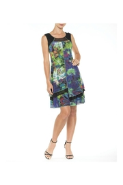 Alison Sheri Neon Botanical Dress - Product Mini Image