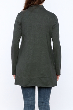 Neon Buddha Grey Laid Back Cardigan - Alternate List Image