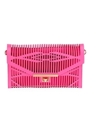 joseph d'arezzo Neon Cutout Clutch - Product Mini Image