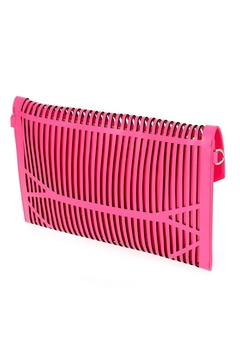 joseph d'arezzo Neon Cutout Clutch - Alternate List Image