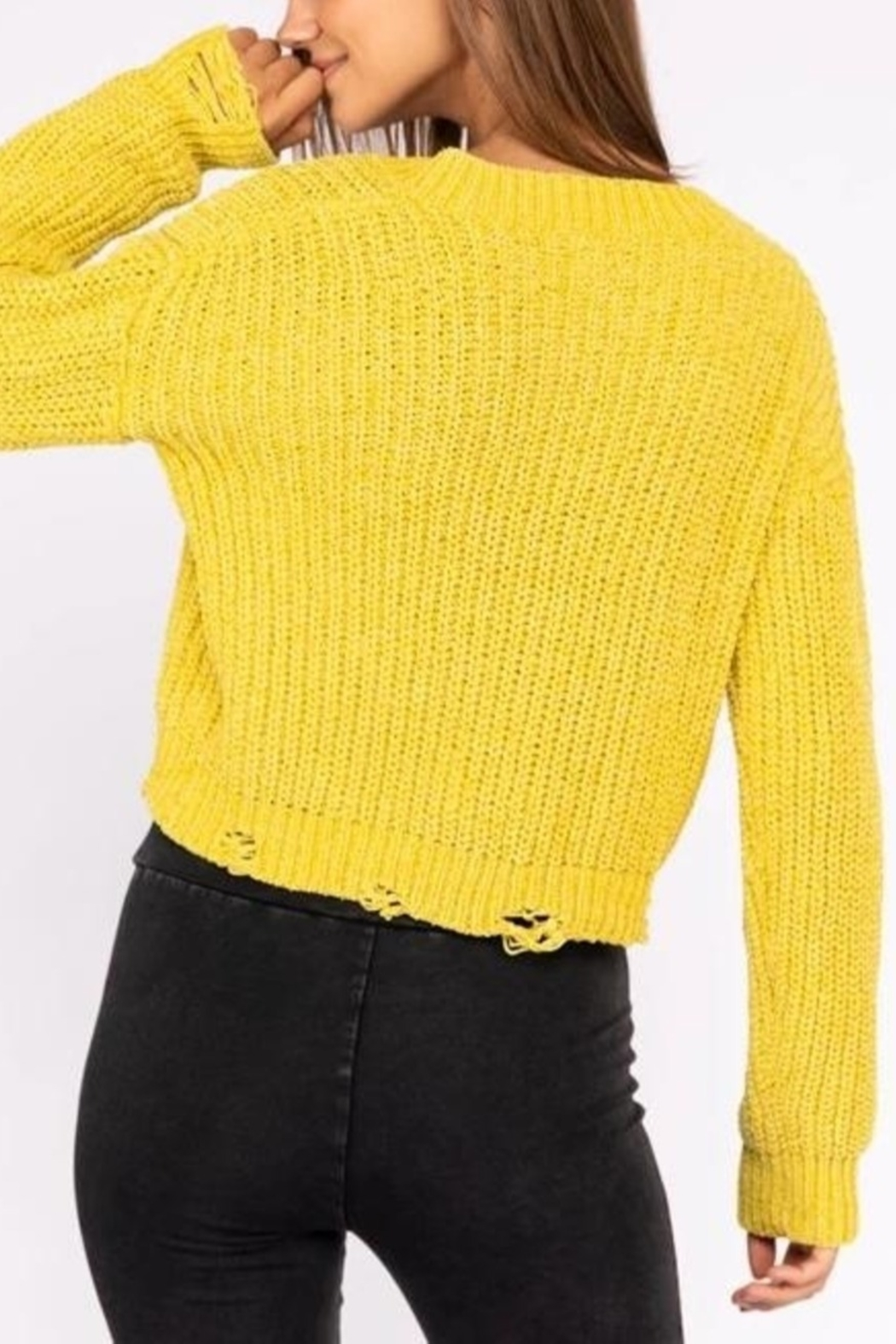 Le Lis Neon Fun  sweater - Front Full Image
