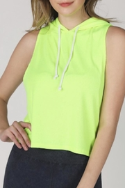 TIMELESS Neon Hoodie - Front cropped