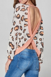 hummingbird Neon-Leopard Open-Back Top - Product Mini Image