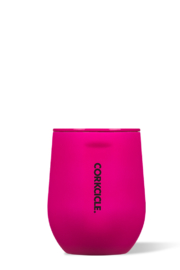 Corkcicle Neon Lights Stemless Wine Cup - Front cropped