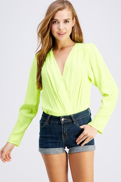 Do & Be Neon Long-Sleeve Bodysuit - Product List Image