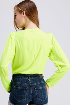 Do & Be Neon Long-Sleeve Bodysuit - Alternate List Image