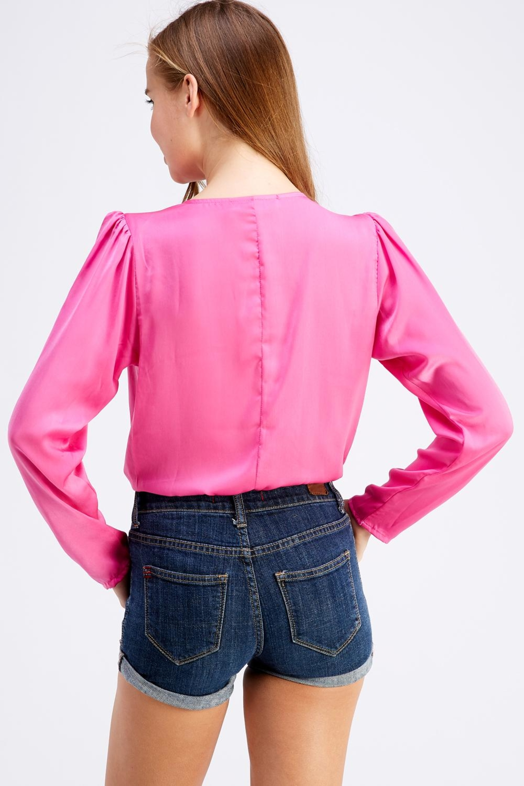 Do & Be Neon Long-Sleeve Bodysuit - Side Cropped Image
