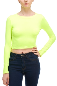 Shoptiques Product: Neon Long-Sleeve Top