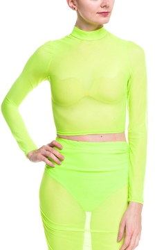 Shoptiques Product: Neon Mesh Top