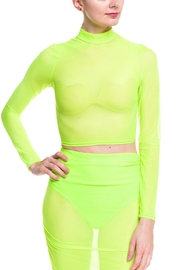 Cleo Neon Mesh Top - Product Mini Image