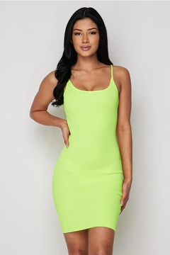 Shoptiques Product: Neon Mini Dress