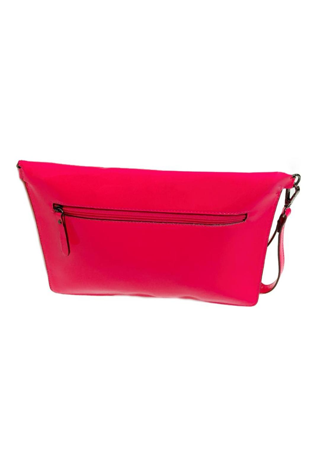 Neon Pink Clutch - Front Full Image
