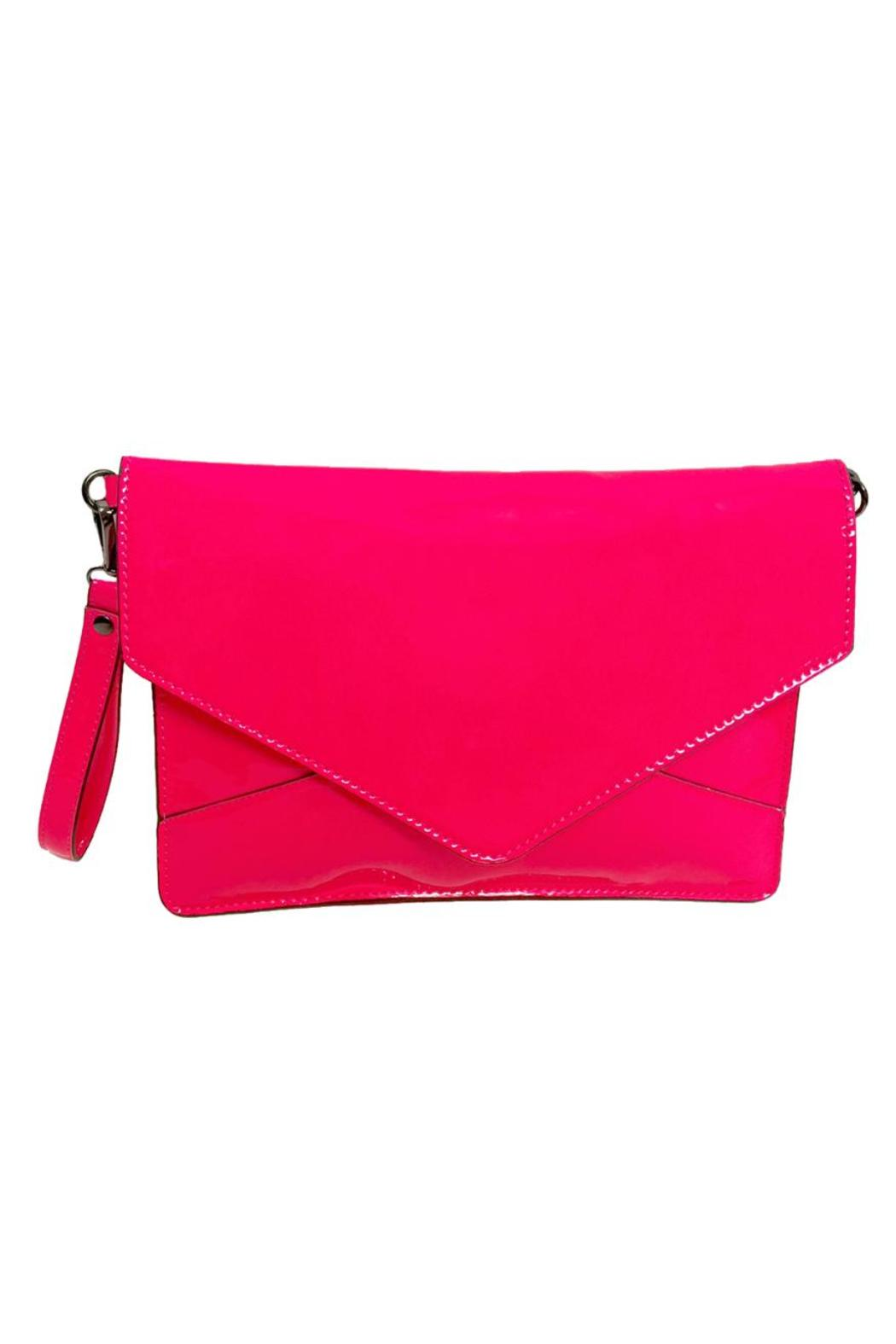 Neon Pink Clutch - Main Image