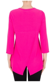 Joseph Ribkoff Neon Pink Top - Side cropped
