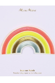 Meri Meri Neon Rainbow Patch - Product Mini Image