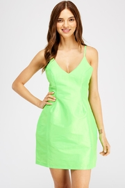luxxel Neon Round Dress - Product Mini Image