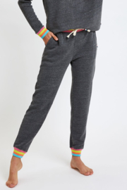 Sol Angeles Neon Stripe Jogger - Front cropped