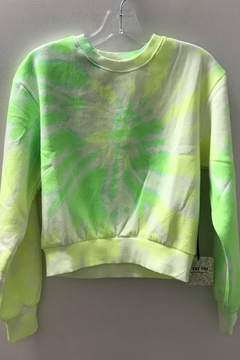 Trend:notes Neon Tie Dye Sweatshirt - Alternate List Image