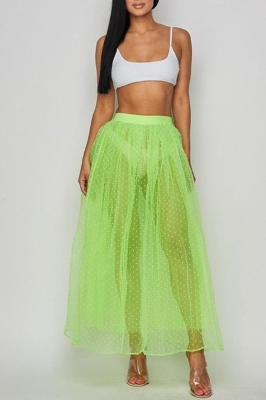 Hot & Delicious Neon Tulle Skirt - Main Image