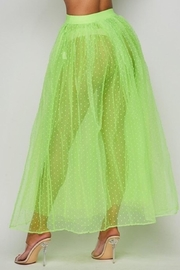 Hot & Delicious Neon Tulle Skirt - Side cropped