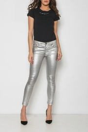 Neon Blonde Platinum Skinny Jean - Product Mini Image