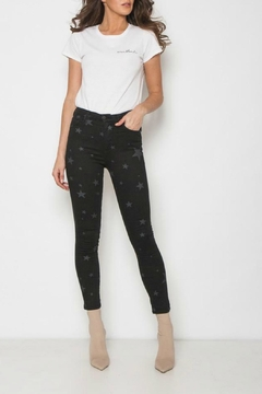 Shoptiques Product: Star Detailed Jean