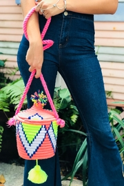 Neon Bohemians Dylan Bucket Bag - Front cropped