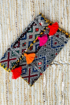 Shoptiques Product: Mccartney Rug Clutch