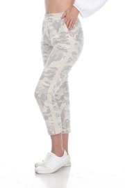 Neon Buddha Camo Print Ankle Pant - Front cropped
