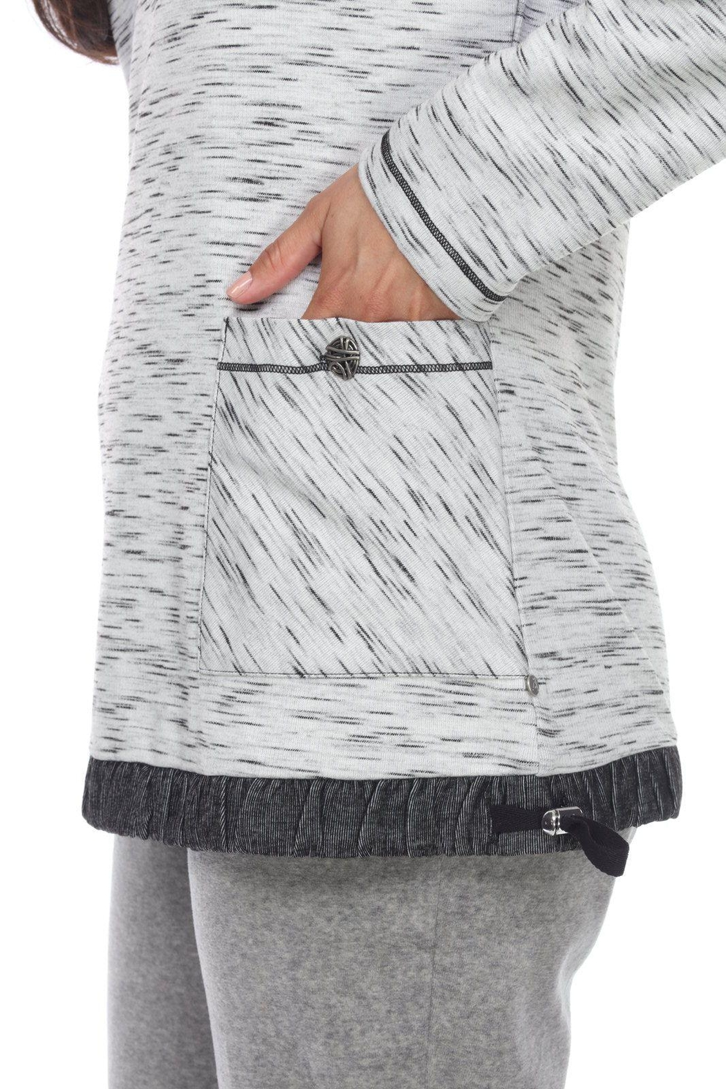 Neon Buddha Sporty Pullover Tunic - Front Full Image