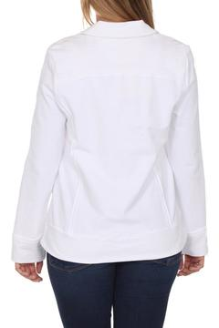 Shoptiques Product: White Button Jacket