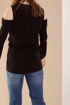 Shoptiques Product: Black Wrap Blouse