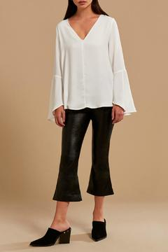 Shoptiques Product: Fluted Sleeve Top