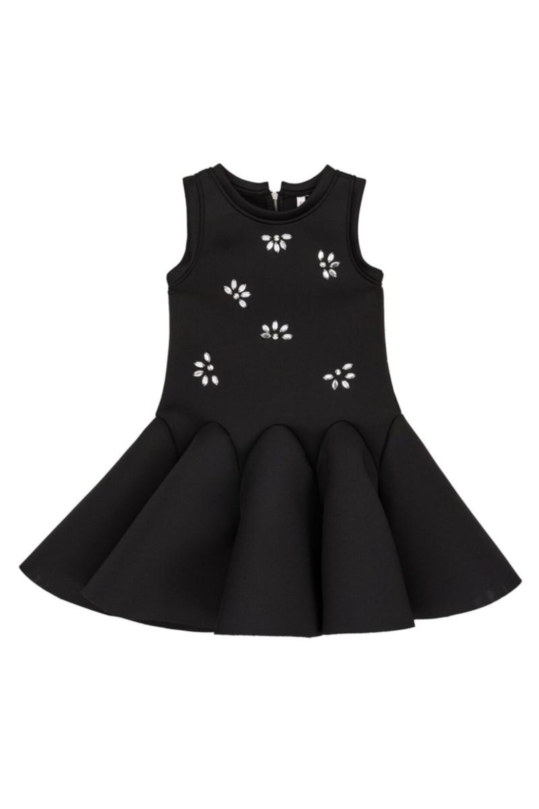 Deux Par Deux Neoprene Bejeweled Dress - Main Image