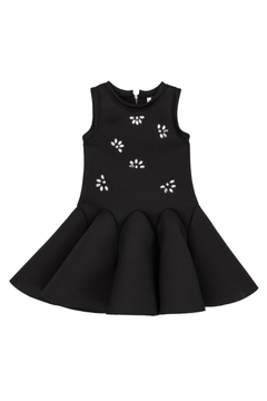 Deux Par Deux Neoprene Bejeweled Dress - Product List Image