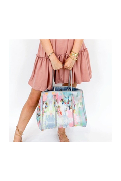 Shoptiques Product: NEOPRENE LARGE TOTE-LAURA PARK COLLECTION