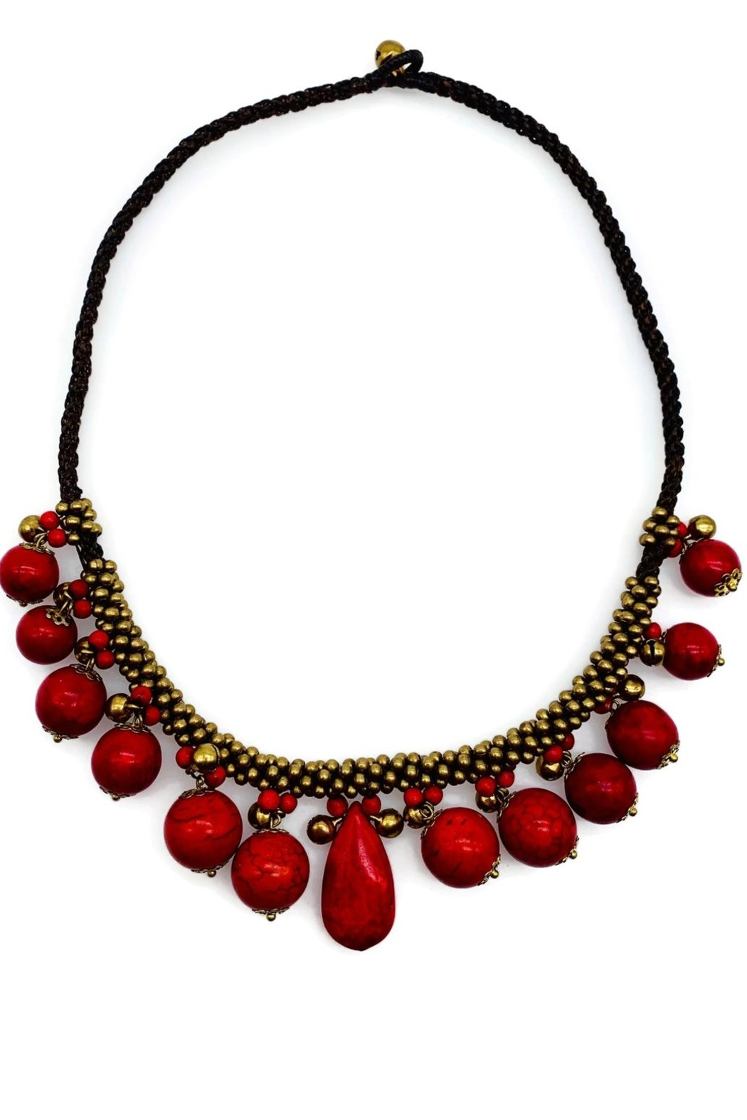Ananda Chicago  Nepal Necklace - Front Cropped Image