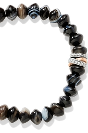 Brighton Neptune's Rings Banded Agate Stretch Bracelet - Product Mini Image