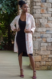 Cupcakes and Cashmere Neptune Snake Print Longline Duster - Product Mini Image