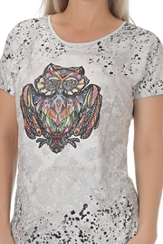 Ness Owl Print Tee - Product Mini Image