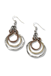 Anju Handcrafted Artisan Jewelry Nesting Circles Earring - Product Mini Image