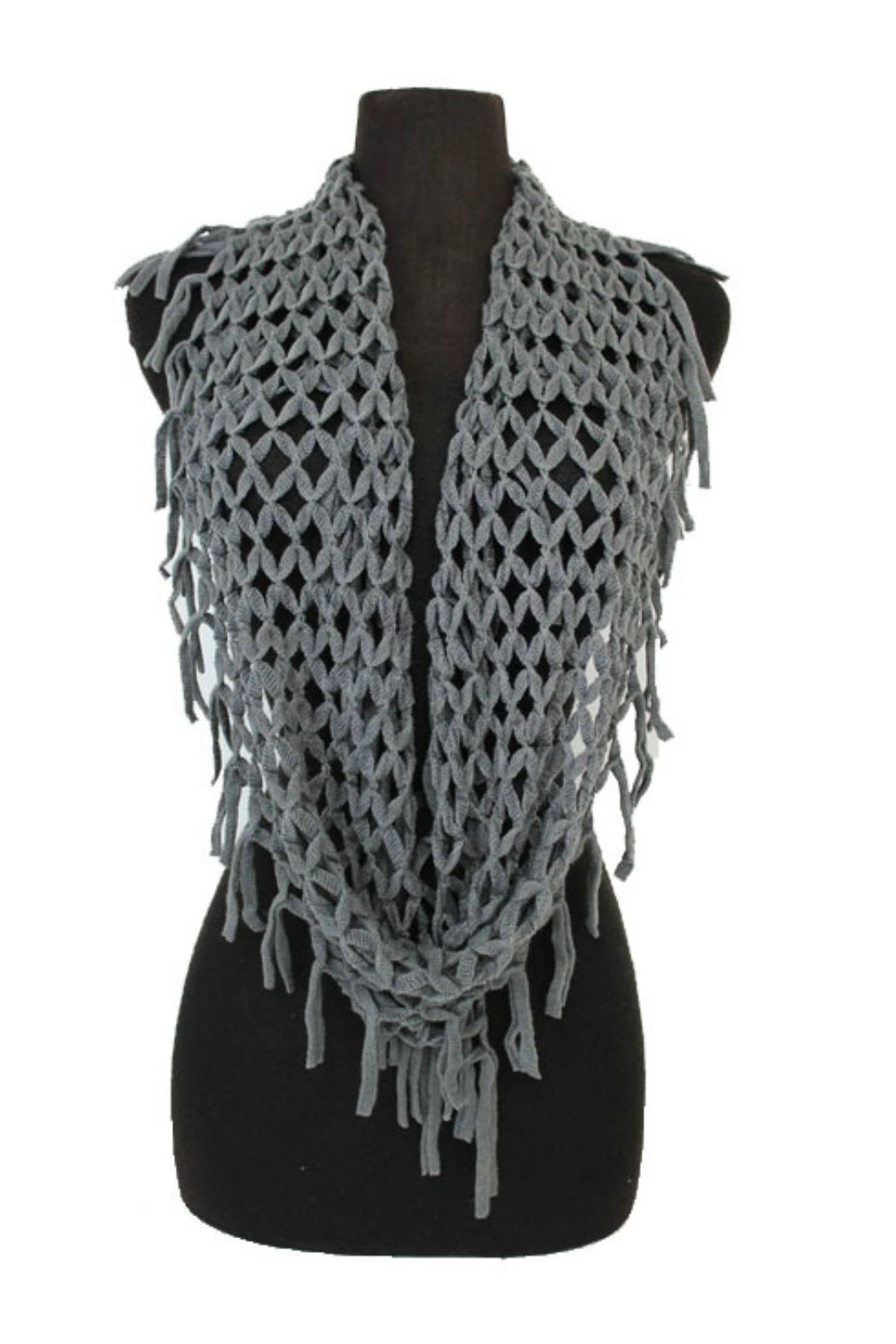 Minx Net Infinity Scarf - Front Full Image
