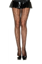 Adore Clothes & More Net Lace Tights - Product Mini Image