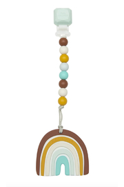 loulou Lollipop  Neutral Rainbow Teether Set - Product Mini Image