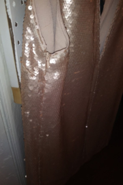 Forever 21 Neutral Sequin Mini Dress - Side cropped