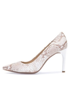 Shoptiques Product: Neutral Snakeskin Pump